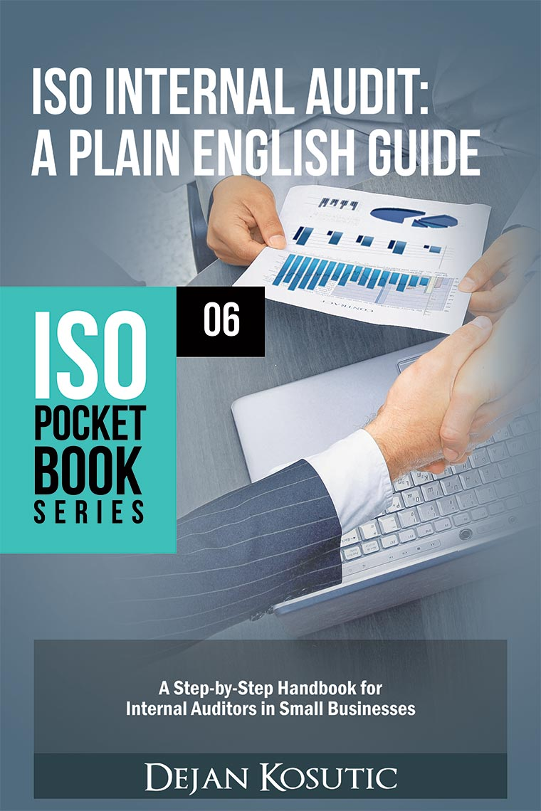New book ISO Internal Audit  A Plain English Guide
