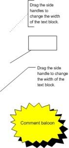 Simboluri comentarii schema logica