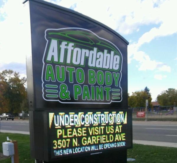 auto shop sign ideas