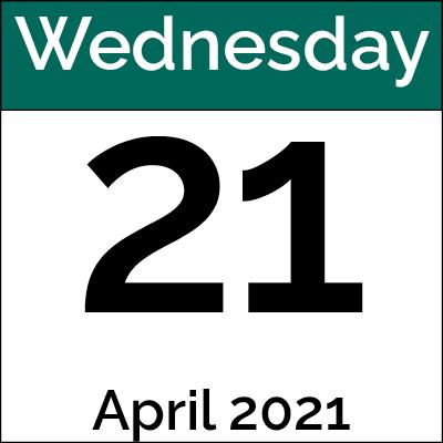 April 21