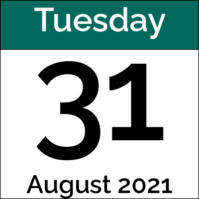 August 31