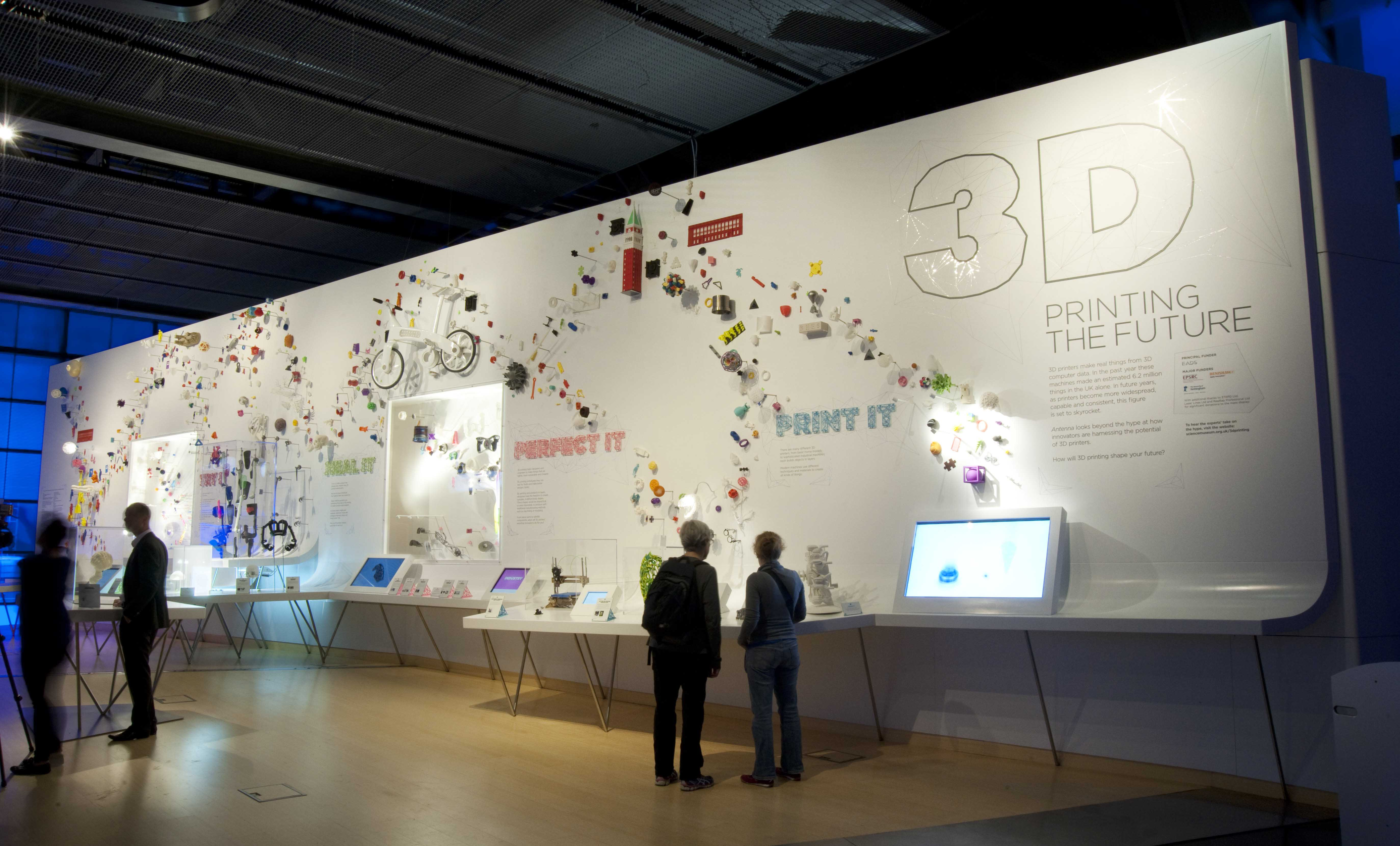 IN FOCUS 3D Printing  remaking the museum  Museums