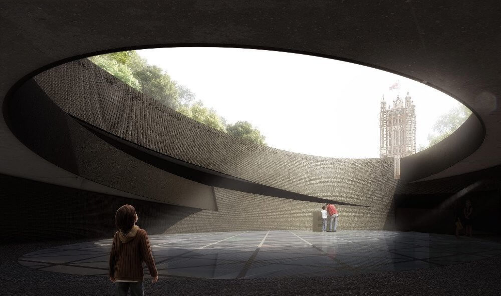 Design Proposals for the new UK holocaust memorial mix