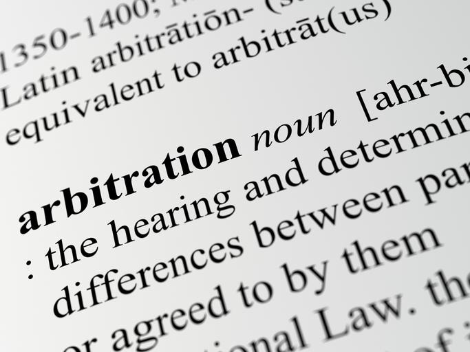 advocaat arbitration Duitsland
