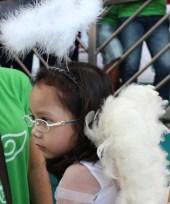 Angel w eyeglasses