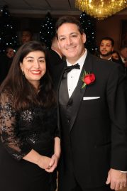 Councillor Fred Capone is shown with his wife, Michele.