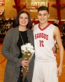 #10 Robert McGrane with his mom, Cheryl.