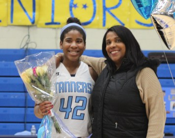 Heavenly Porcher and her mother.