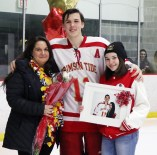 #11 Asst. Captain Nathan Johnson with Christina Olivia and Alyssa Olivia