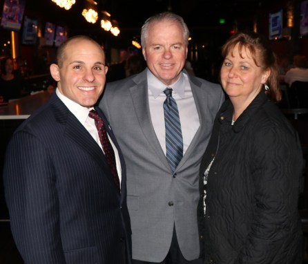 Representative Steven Ultrino with Greg and Marie Lucey