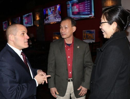 Representative Ultrino welcomes, Franklin Lam and Katie Poon.