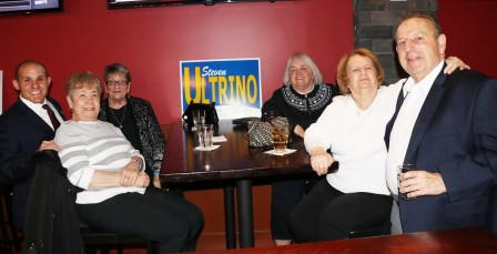 Joining Rep. Ultrino at the Luxury Boxx, Phyllis Russo, Mary Hickey, Councillor Paul Condon, Helen Blendell and Louene O'Brien.