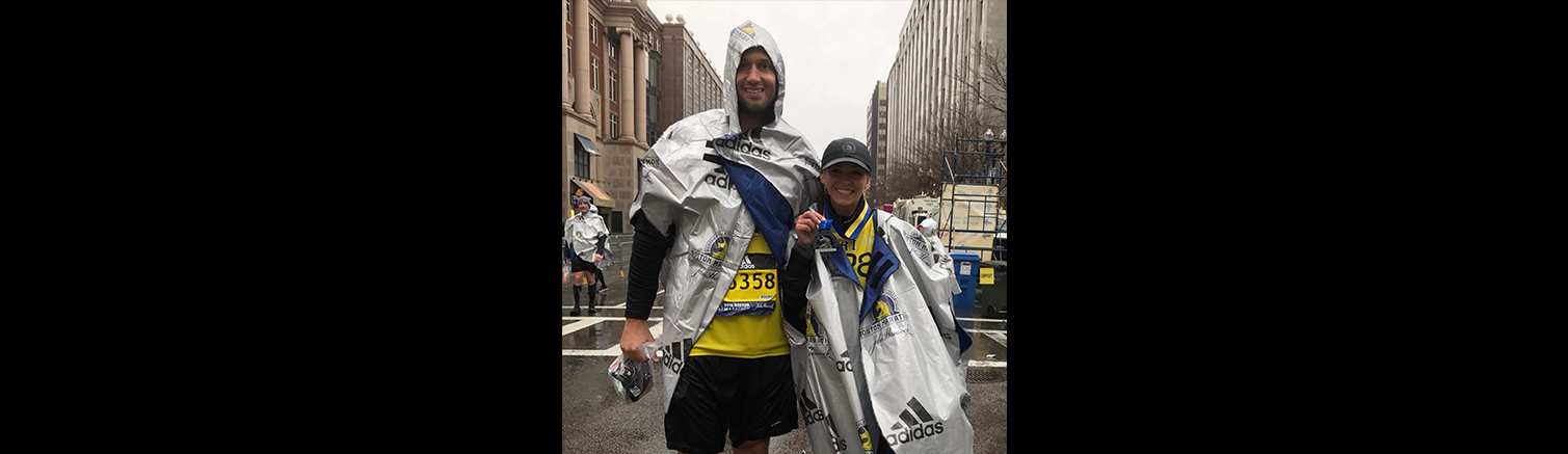 Revere native runs Boston Marathon in memory of '13 bombing victim