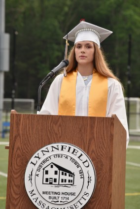 Student Council President Mia Ford