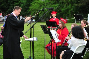 Saugus High School Concert Band, conducted by Justin Jones