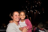 Mia Bella and Gladys Montel watched the Glendale Park fireworks on Saturday night
