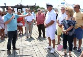 A heartfelt greeting from Mayor Brian Arrigo to the officers and members of the Point of Pines Yacht Club. Arrigo thanked the PPYC for their community service and dedication as well as being a good neighbor organization in Revere. Mayor Arrigo also wished everyone a happy and safe boating season.
