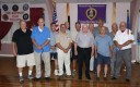 Purple Heart recipients that were in attendance last Tuesday evening. List; Marc Silvesrtri, Thomas Basciano, Richard Sykes, Carl Borgioli, John Mackay, Frederick Parker, William Carafa, Robert Dion, James Williams, John Cifuni, Martin Robichaud, Kenneth Holgerson, Paul Simard, John Cotter, Ray Robinson, Ludie Parker, Nicholas Francullo, John Kane, and Mario Cuozzo.