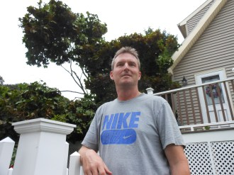 """""""LIKE A FREIGHT TRAIN"""": Victoria Street resident Mike Moloney said that's what the microburst sounded like when it passed through the Riverside Park area on Tuesday. He also said it felt like the storm was going to knock his house off its foundation."""