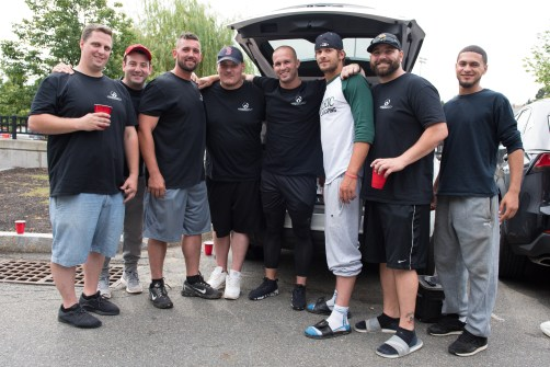 The Commonwealth Energy Team enjoyed tailgating between games on Saturday