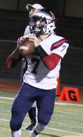 RHS QB Jonathan Murphy came up in a big way on offense and defense.