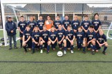 Shown, from left to right, are (top row) Head Coach Brent Munroe, Max Sieger, Luke Martinho, David Gentile, Jack Campbell, Nathan Bass, Michael Gentile, Jonathan Luders, Jackson Cleary, Alejandro Lynch, (bottom row) Joseph Cibelli, Aidan Connelly, Joseph Connelly, Thomas Hauser, Thomas Buston, Matthew Gentile, Jack Bird, Domenic Ferrante, and Benjamin Sykes.
