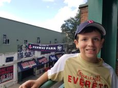 Jimmy Fund - Sal at Fenway