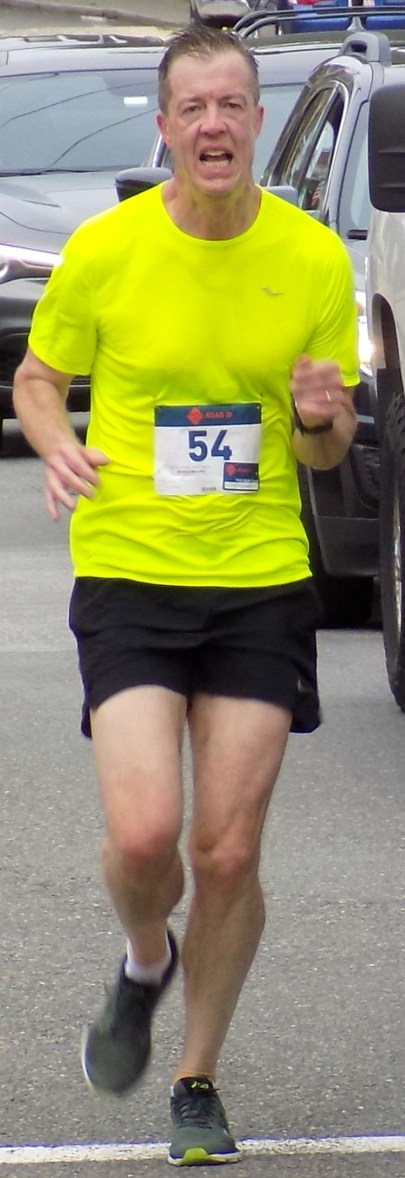Michael Sullivan, 54, of Andover, finished in seventh place with a time of 22 minutes, 56 seconds.