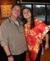 Kelly's of Saugus General Manager Artie Perrin with his daughter, Rachel.