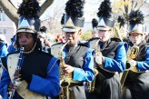 The Golden Tornadoes Marching Band was a big part of the Veteran's Day Parade last Sunday morning.