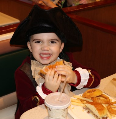 Isaiah Carteiro found treasure chest of food at Kelly's in Saugus.