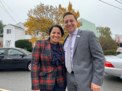 State Senator Joe Boncore (D-Winthrop) showed his support for District Attorney candidate Rachael Rollins on Tuesday.