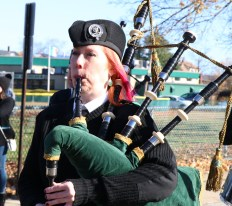 The Boston Irish Pipes and Drums are always a crowd favorite.