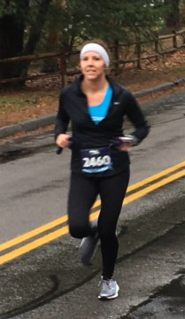 Gina Scheer of Wakefield finished in ninth place with a time of 23 minutes, 47 seconds.