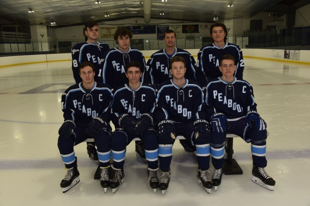 SENIORS: Shown from left to right are (top row) Jack Malcolm, Mike Sabino, Ryan Fera, Dante Vargas, (bottom row) Nick Capillo, Caleb Dollin, Connor McCarron and Ryan Huber
