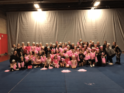 Saugus Sachems Cheerleading 2018