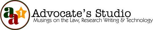 Advocate's Studio Masthead