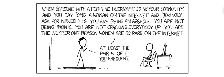 """""""px plz"""" by xkcd, licensed for reuse."""