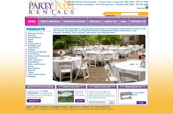 Party Plus Rentals_1303760899827