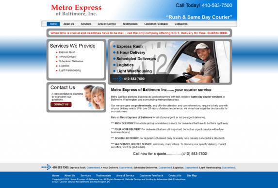 baltimore md metro express
