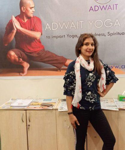 Neha Sharma Adwait Yoga School Trainer