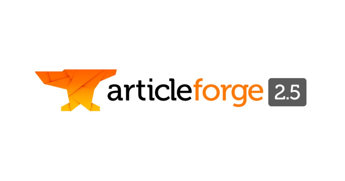 Article Forge 2.5