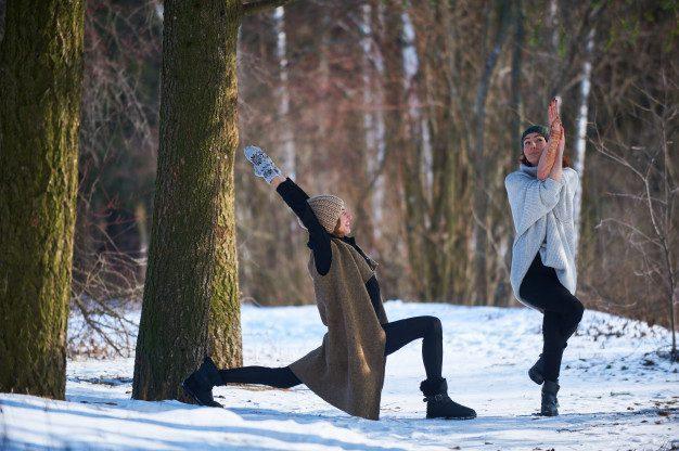 yoga for winter