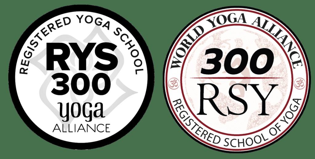 300 hour yoga teacher training course logo