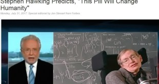 Stephen Hawking Variant of spam page