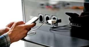 USB public charging stations