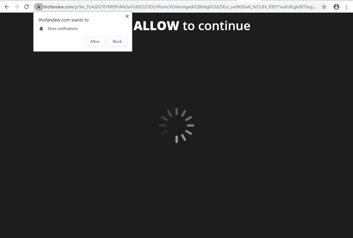 What is Thofandew.com?