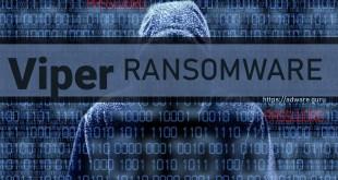 Remove Viper Virus (.email=ancrypted1@gmail.com.Viper Files Ransomware) – HiddenTear Ransomware