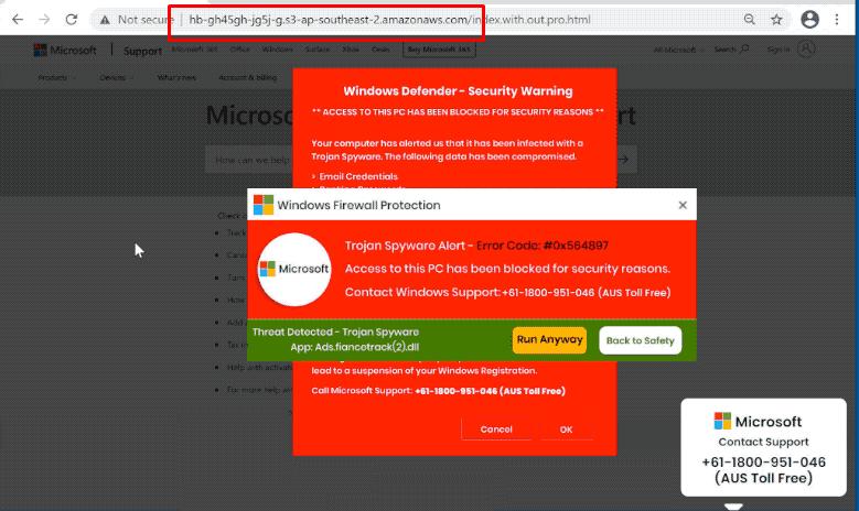 What is Error Code: #0x564896?