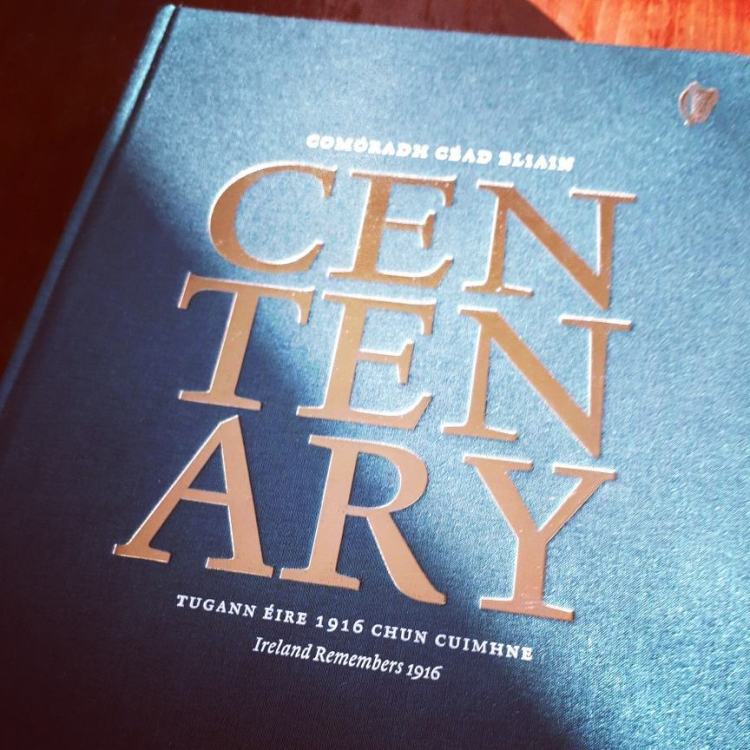The centenary 1916 commemorative book